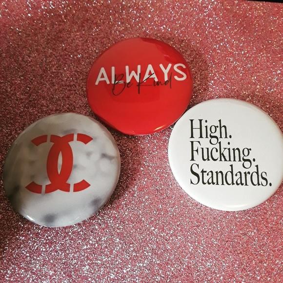 Accessories - Handmade Pinback Buttons